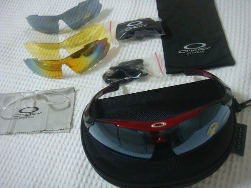Óculos Oakley + 5 Lentes + Suporte Para Lentes De Grau - Loja de ... 205d468205